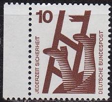 Buy GERMANY BUND [1971] MiNr 0695 A Bogen ( **/mnh )