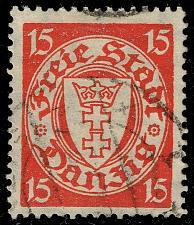 Buy Danzig #176 Coat of Arms; Used (4Stars) |DAN176-02XRS
