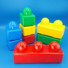 Buy 8 Lego Duplo Primo Baby Blocks Yellow Red Blue Green Bricks Lot