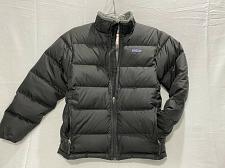 Buy Patagonia Boys Coat Goose Down Puffer Jacket Size Large 12 Black