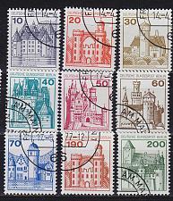 Buy GERMANY BERLIN [1977] MiNr 0532-40 A ( O/used ) Burgen Schlösser