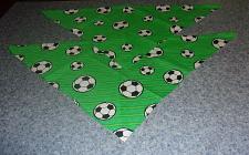 Buy 2 Brand New Soccer Ball Design Dog Bandanas For Cocker Spaniel Rescue Charity