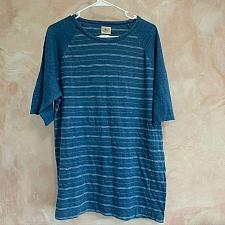 Buy faherty crew neck t shirt striped Sample