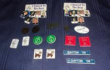 Buy 31 Assorted Square Dance Dangles Two Badges For Cocker Spaniel Rescue Charity