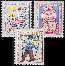 Buy CSSR [1958] MiNr 1106-08 ( **/mnh )