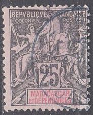 Buy MADAGASKAR MADAGASCAR [1896] MiNr 0035 ( O/used )