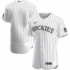 Buy Colorado Rockies White Home Authentic Team Jersey