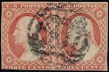 Buy US #11A George Washington Pair; Used (3Stars)  USA0011Apair-01XVK