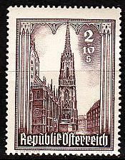 Buy ÖSTERREICH AUSTRIA [1946] MiNr 0800 ( **/mnh ) Architektur