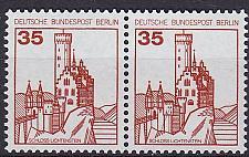 Buy GERMANY BERLIN [1982] MiNr 0673 A 2er ( **/mnh ) Burgen Schlösser