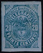 Buy Colombia Telegraph Stamp (Yvert #TE27); Unused (3Stars) |COLTE27-01XRS