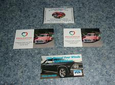 Buy 4 Brand New Ohio Car Show Dash Plaque Magnets For Cocker Spaniel Rescue Charity