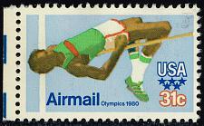 Buy US #C97 Olympic High Jump; Used (3Stars) |USAC097-04