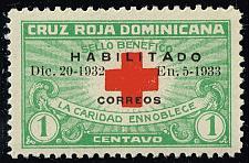 Buy Dominican Rep. #265B Red Cross; Unused (3Stars) |DOR0265B-05XRS
