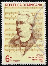 Buy Dominican Rep. #864 Emilio Prud'Homme; Used (3Stars) |DOR0864-01XRS