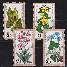 Buy GERMANY BUND [1978] MiNr 0982-85 ( **/mnh ) Blumen