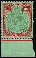 Buy Bermuda #96 King George V; Unused (3Stars) |BER0096-02XVK
