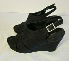 Buy Aerosoles Women's Black Sandal size 6