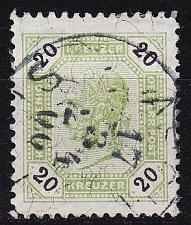 Buy ÖSTERREICH AUSTRIA [1890] MiNr 0057 K ( O/used )