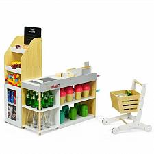 Buy Grocery Store Playset Pretend Play Supermarket Shopping Set