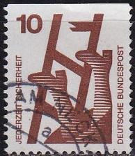Buy GERMANY BUND [1971] MiNr 0695 C ( O/used )