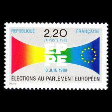 Buy 1989 France, European Parliament Elections Scott 2142 Mint F/VF NH