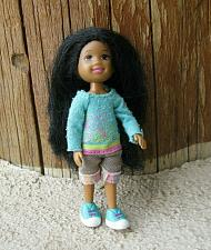 """Buy Ty inc Lil Ones African American Girl Doll 4"""" Tall 2009 Jointed"""