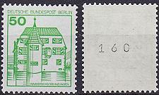 Buy GERMANY BERLIN [1980] MiNr 0615 A R ( **/mnh ) Burgen Schlösser