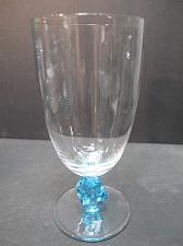 Buy Bryce Aquarius beverage glass blue Crystal