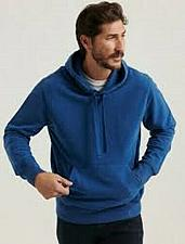 Buy Sueded Fleece Terry Hoodie Size Small Men`s NWT`s
