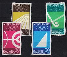 Buy GERMANY BUND [1969] MiNr 0587-90 ( **/mnh ) Olympiade