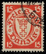 Buy Danzig #176 Coat of Arms; Used (4Stars) |DAN176-01XRS