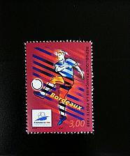 Buy 1998 France World Cup Soccer Championships, Bordeaux Scott 2624 Mint F/VF NH