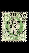 Buy ÖSTERREICH AUSTRIA [1867] MiNr 0036 II a A ( O/used )