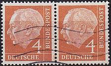 Buy GERMANY BUND [1954] MiNr 0178 2er ( O/used )