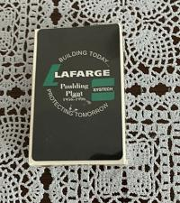 Buy MIP Sealed Lafarge Paulding Ohio Plant 40th Anniversary 1996 Playing Cards