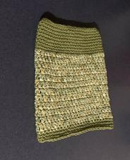 Buy Brand New Hand Crocheted Green Dog Snood Neck Warmer For Dog Rescue Charity