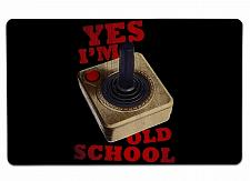 """Buy Old School Large Mouse Pad 10"""" x 16"""" Mat Placemat Pop Culture Inspired Nerdy Gee"""