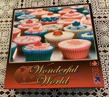 Buy Brand New Sealed Canada Group Wonderful World 500 Piece Jigsaw Puzzle Cupcakes