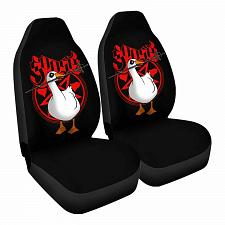 Buy Untitled Metal B Car Seat Covers Nerdy Geeky Pop Culture Set of 2 Front Seat