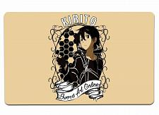 """Buy Kirito Sao Iii Large Mouse Pad 10"""" x 16"""" Mat Placemat Pop Culture Inspired Nerdy"""