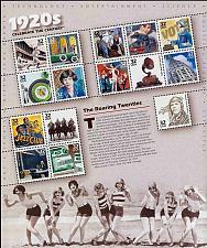 Buy 1998 32c 1920's Celebrate the Century, Sheet of 15 Scott 3184 Mint F/VF NH