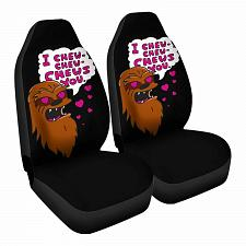 Buy Chews You Car Seat Covers Nerdy Geeky Pop Culture Set of 2 Front Seat