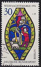 Buy GERMANY BERLIN [1976] MiNr 0528 Block 5 ( O/used ) Weihnacht