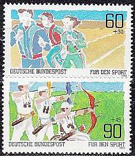 Buy GERMANY BUND [1982] MiNr 1127-28 ( **/mnh ) Sport