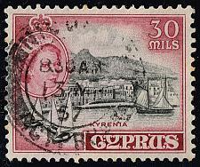 Buy Cyprus #175 Kyrenia; Used (2Stars) |CYP0175-03XRS