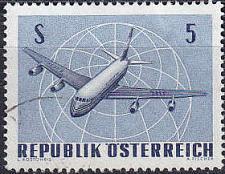 Buy ÖSTERREICH AUSTRIA [1968] MiNr 1264 ( O/used ) Flugzeug