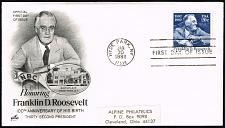 Buy US #1950 Franklin D. Roosevelt Artcraft First Day Cover |USA1950fdc-02XDP
