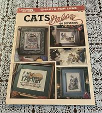 Buy Leisure Arts Leaflet 2821 Cats Galore 66 Adorable Cross Stitch Designs 4 Charity