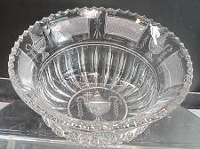 Buy Urn and flame Hand Cut Glass bowl abp Paipoint